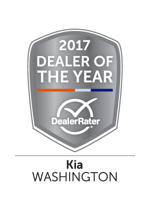 Dick Hannah Kia 2017 DealerRater Kia Dealer of the Year Washington State