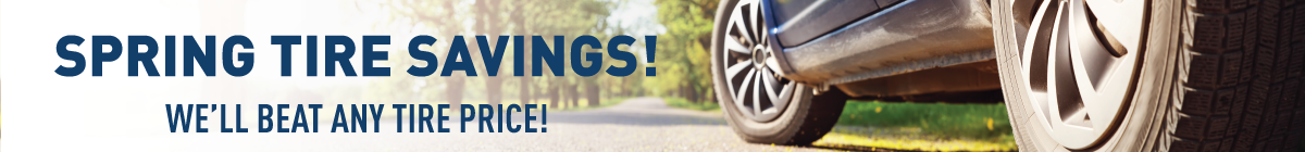 Spring Tires - We Beat Any Price